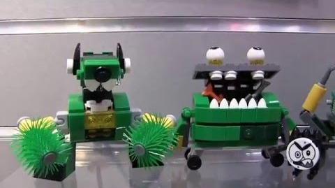 Series 7,8 and 9 LEGO Mixels Teaser from NY Toy Fair nytf