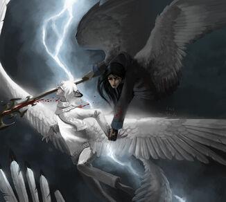 A Murderer in Heaven by WhiteRaven90