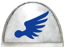 Eagle warriors badge