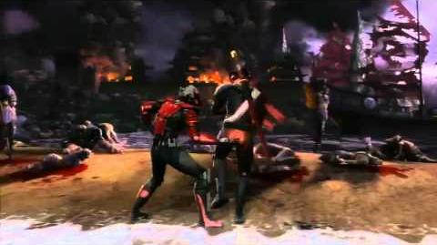 Mortal Kombat - Kenshi Trailer (PS3, Xbox 360)