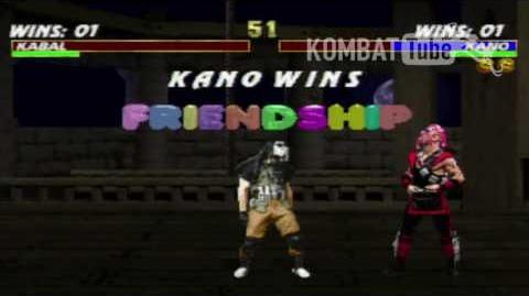 MK III Kano Friendship