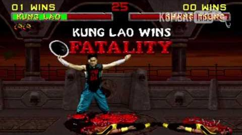 "MK II Kung Lao ""Hat Slice"" Fatality"