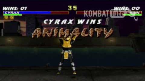 MK III Cyrax Animality
