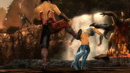 Mortal kombat kitana vs liu kang