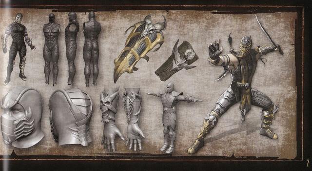 File:MK9 Artbook - Scorpion 2.JPG