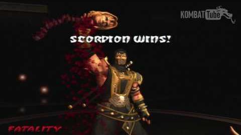 """MK-D Scorpion """"Head Rip"""" Fatality"""