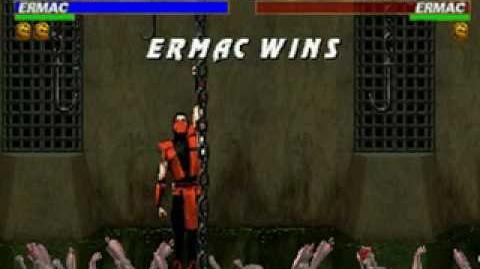 Mortal Kombat Trilogy - Brutality - Ermac