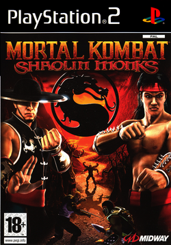Mortal Kombat Shaolin Monks cover