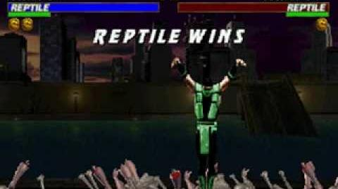 Mortal Kombat Trilogy - Brutality - Reptile