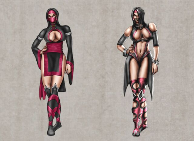 File:Mortal Kombat Deception Mileena Concepts.jpg