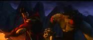 Shang tsung vs liu kang