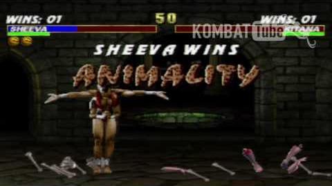MK III Sheeva Animality
