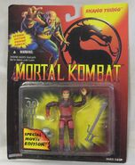 Shang Tsung Movie figure carded