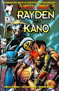 MK Rayden & Kano Issue 1 Cover 1