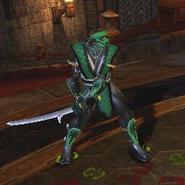 Ninjasword chameleon