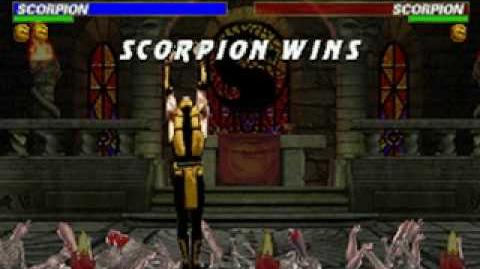 Mortal Kombat Trilogy - Brutality - Scorpion
