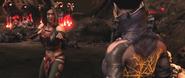 Sareena MKX Fighting stance