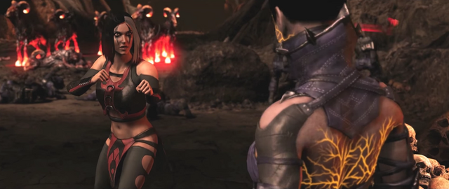 File:Sareena MKX Fighting stance.png