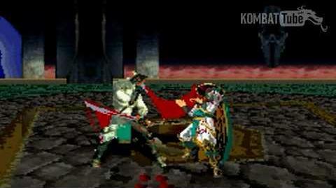 GBA MK TE Quan Chi Weapon Fatality