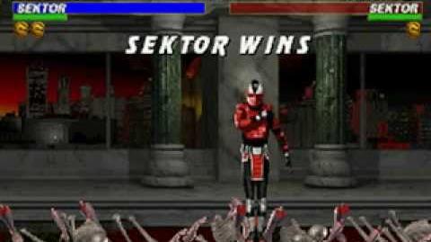 Mortal Kombat Trilogy - Brutality - Sektor