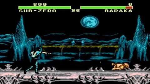Mortal Kombat 3 hack (Select Screen+Gameplay) NES HD 720p