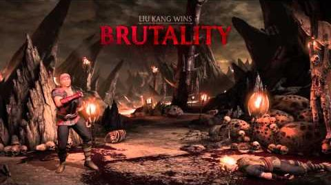 Liu Kang Brutality 1 - Hot Head