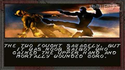 MK-TE Ending- Noob Saibot