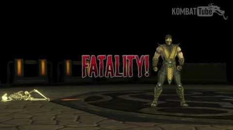 "MKvsDC Scorpion ""Hell Fire"" Fatality"