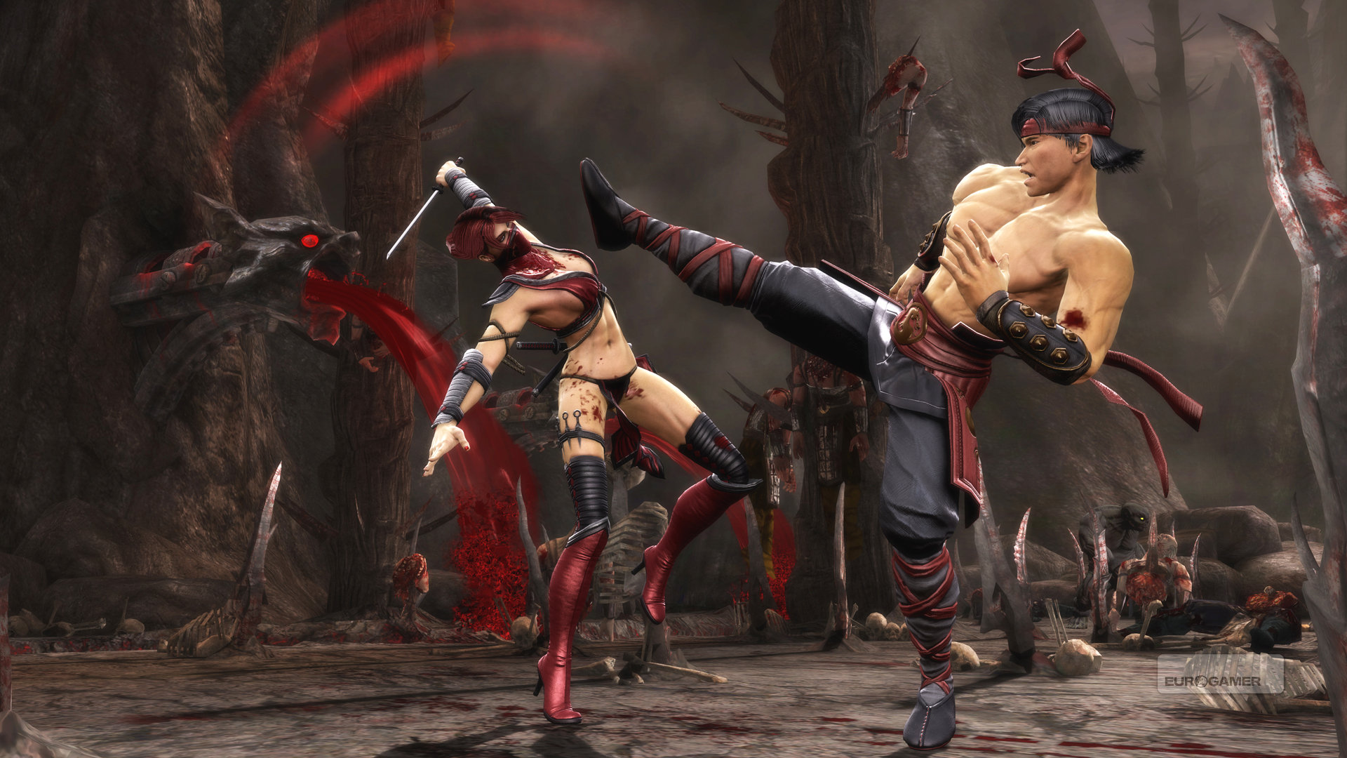 Mortal Kombat X Wallpaper Liu Kang
