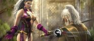 Queen Sindel with an Edenian Sword