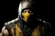 Mortal kombat x render 1 by rajivcr7-d7kyhan Scorpion