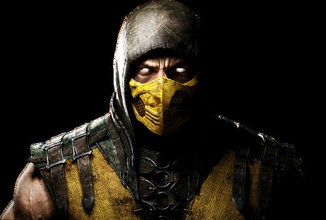 File:Mortal kombat x render 1 by rajivcr7-d7kyhan Scorpion.png