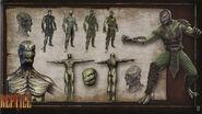 MK9 Artbook - Reptile