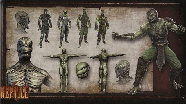 File:MK9 Artbook - Reptile.JPG