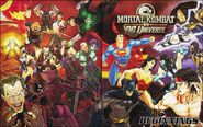 MK vs DCU Beginnings Cover