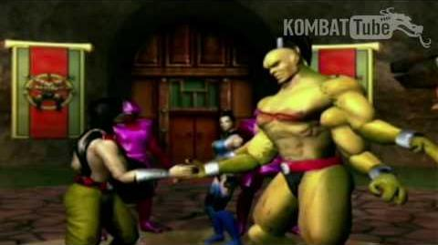 Gold Ending- KUNG LAO