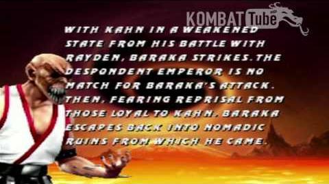 MK III Ending- BARAKA