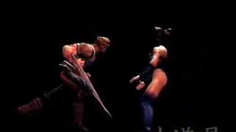 Mortal Kombat Shaolin Monks Baraka's Fatality