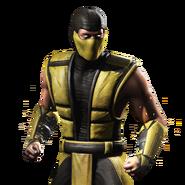 Mortal kombat x ios scorpion render 7 by wyruzzah-d9j69xy