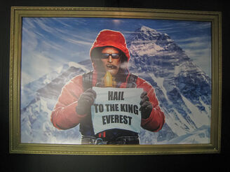 Duke Nukem Mt. Everest Painting