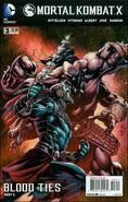 Mortal Kombat X Issue 3 Print Cover