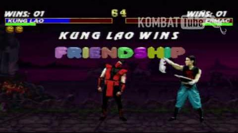 MK III Kung Lao (MK2) Friendship