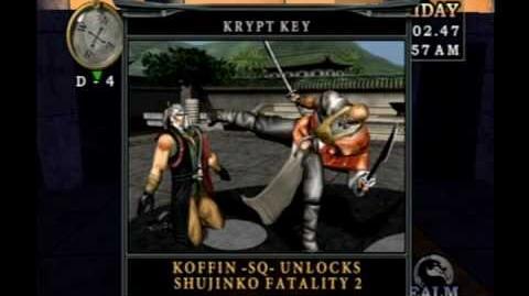 Mortal Kombat Deception - How To Unlock Raiden & Two Other Krypt Keys