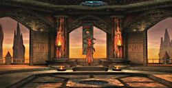 Shinnok's Throne Room