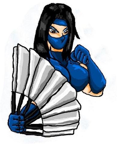 File:Mortal Kombat ll Arcade Art Kitana.png