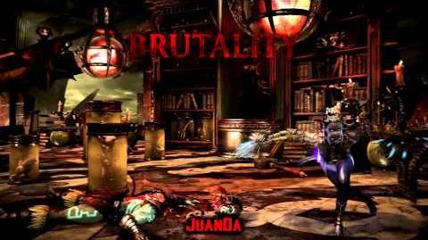 Mortal Kombat X Quan Chi's Fortress Stage Brutality