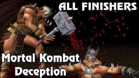 Mortal Kombat Deception - Fatality Demonstration (+Puzzle Kombat) (60 FPS)