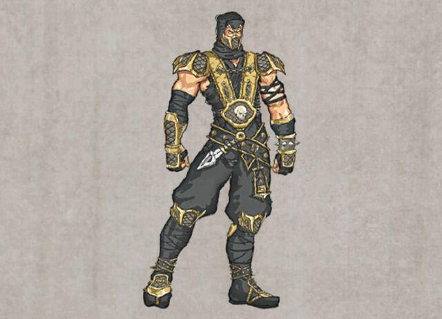 File:Mortal Kombat Deception Scorpion Concept.jpg