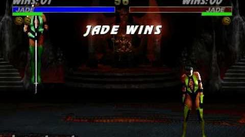 Ultimate Mortal Kombat 3 - Friendship - Jade