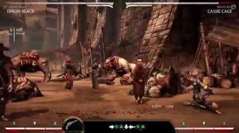 Mortal Kombat X Kombat Klass - Erron Black